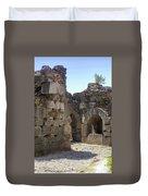 Asklepios Temple Ruins View 4 Duvet Cover
