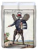 Asmodeus, King Of Demons, 18th Century Duvet Cover