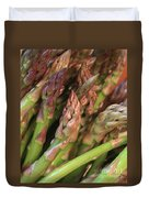 Asparagus Tips 2 Duvet Cover