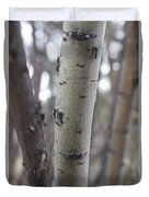 Aspen Bark Detail Duvet Cover