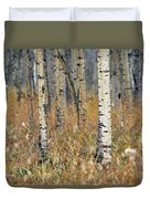 Aspen Forest, Mountain View County Duvet Cover