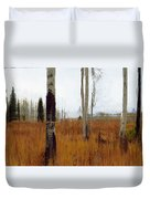 Aspen Forest Shear II Duvet Cover