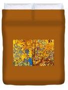 Aspen Glow Autumn Sky Duvet Cover