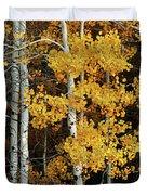 Aspen Gold Duvet Cover