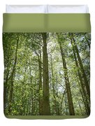Aspen Green Duvet Cover