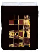 Aspen Grove Abstract Duvet Cover
