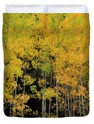 Aspen Haven  Duvet Cover by Ron Cline
