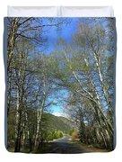 Aspen Lined Road Duvet Cover
