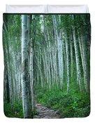 Aspen Trails  Duvet Cover