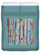 Aspens Abstract IIi Duvet Cover