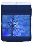 Asphalt-tree Abstract Refection 02 Duvet Cover