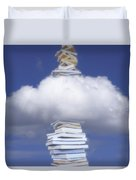 Aspirations Of Knowledge Duvet Cover
