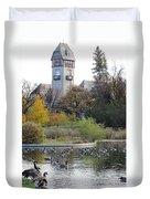 Assiniboine Park Pavilion Duvet Cover