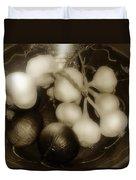 Assorted Alliums Duvet Cover