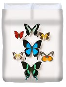 Assorted Butterflies Duvet Cover