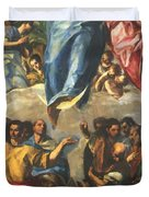 Assumption Of The Virgin 1577 Duvet Cover