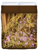 Asters In Autumn Duvet Cover