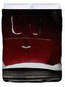 Aston Martin Db-4 Sans Paint Duvet Cover