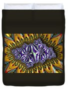 Astonishment - A Fractal Artifact Duvet Cover