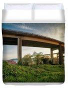 Astoria Bridge Sunrise Duvet Cover