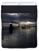 Astoria-megler Bridge Duvet Cover