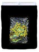 Astoria Sunflower Study 2 Duvet Cover
