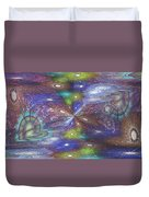 Astral Anomaly Duvet Cover
