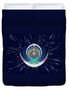 Astral Speedway Duvet Cover