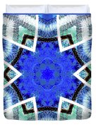 Astral Star Mandala Duvet Cover