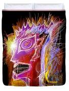 Astroface Firehead Duvet Cover