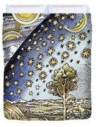 Astrology, 16th Century Duvet Cover