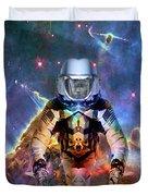 Astronaut Disintegration Duvet Cover