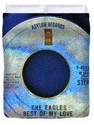 asylum Records and the Eagles Duvet Cover