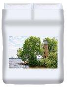 Asylum Point Lighthouse 1 Duvet Cover