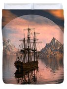 At Anchor Duvet Cover