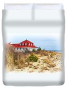 At Cape May Point Duvet Cover