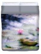 At Claude Monet's Water Garden 12 Duvet Cover