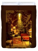 At Home With Al Capone Duvet Cover
