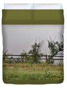 At Peters Canyon In The Rain 1 Duvet Cover