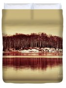 At Quiet Waters Duvet Cover