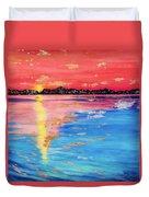 At Sunset Duvet Cover