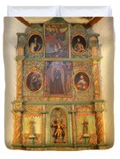 At The Alter San Miguel Mission Santa Fe New Mexico Duvet Cover