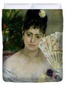 At The Ball Duvet Cover by Berthe Morisot