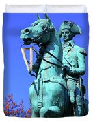 At The Battle Of Princeton Duvet Cover