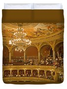 At The Budapest Opera Duvet Cover