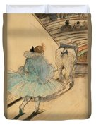 At The Circus Entering The Ring 1899 Duvet Cover