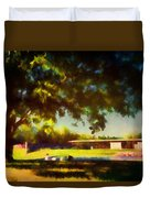 At The Clark IIi Duvet Cover
