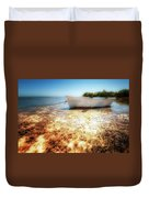 At The Edge Of The Ocean Duvet Cover