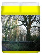 At The Gate Duvet Cover