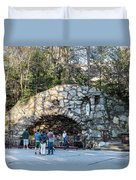 At The Grotto Duvet Cover